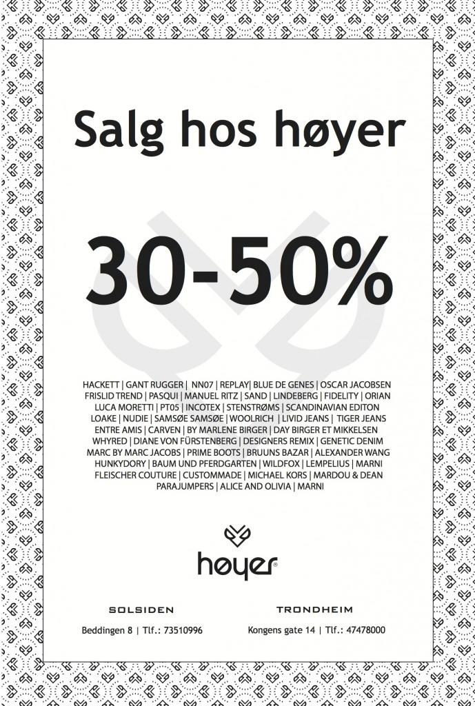 Høyer kvalitetssalg 07.01.2014